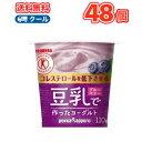 ソヤファーム 豆乳 ヨーグルトブルーベリー【110g×12コ×2】 2ケース48個入【クール便】送料無料 食べる