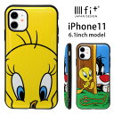 iphone11 ケース ルーニー・テューンズ イーフィット IIIIfit ト