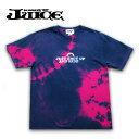 ショッピングロードバイク JUICE(ジュース)JUICE TEE [JUST SHUT UP AND RIDE] タイダイ.藍染め メンズ・レディース・Tシャツ・タイダイ・TIE-DYE グラフィック・アウトドア・ロードバイク・自転車・ロゴ ju-065