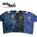 ASCENSION(アセンション)Irregularity Dye Tee ムラ染め TEEシャツ[
