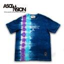 ASCENSION(アセンション)藍染め・タイダイTEE インディゴTシャツ 藍染めTシャツ メンズ