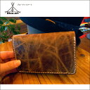 BLUE.art(ブルードットアート)Natural leather wallet[wild leather blown] ba-033