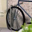 玄関アプローチや駐車場脇にも最適なオシャレな自転車置き場として。一際シンプルな駐輪スタンド!「Type R」【1台用】