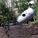 【プランター】【植木鉢】ガスボンベのキャップをリサイクルだるきも系プランター「ぽけっとゾンビ クリア塗装」廃材を再利用してうまれたジャンクな手作りガーデンオブジェ