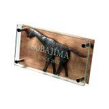 远征旅行迷,为动物迷受欢迎的名牌。请在玻璃中关麒麟。要是找Juicy花园信箱 名牌独特的名牌。【到达后评论折扣】麒麟的名牌。【动物名牌】LT铜手艺名牌 jira[おしゃれなキリンの表札。【アニマル表札】LT銅クラフト