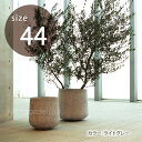 【丸型植木鉢】【大型】「クレイポット(CLAYPOT) ドロップラウンド44(Drop Round 44)50L 10号鉢相当」の写真