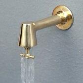 蛇口 「衛生水栓 レトロ色:銅色」 蛇口 水栓 公園蛇口 トイレ キッチン 横水栓 カラン