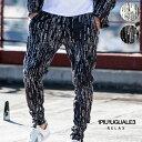 ショッピングサルエル 1PIU1UGUALE3 RELAX ウノピゥウノウグァーレトレ リラックス 4WAY 総柄グラフィックサルエルパンツ パンツ メンズ