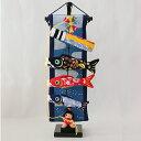 五月人形 脇飾り 室内用 こいのぼり風雲!金太郎鯉特小 高さ48cm