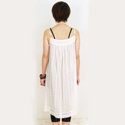 ボイルウェーブミニドレス【アジアンファッション...の紹介画像3