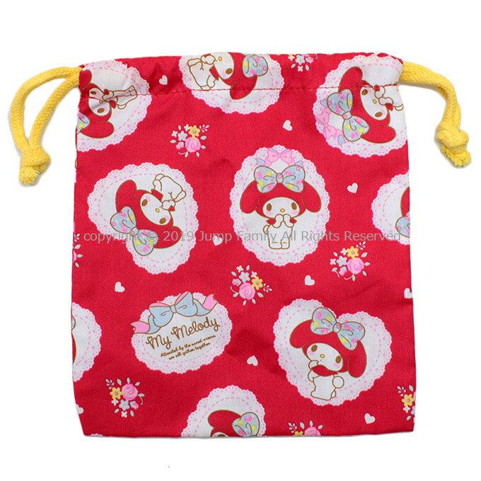 メール便5点まで可巾着Sマイメロディ巾着袋給食袋コップ袋巾着Sサイズキッズ子供キャラクター通園通学女