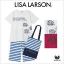 ショッピングWacoal 【送料無料】30%OFF ワコール ナイトウェア【LISA LARSON】リサ・ラーソン 4分袖+7分パンツパンツ パジャマ KDT429ML