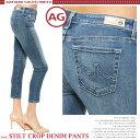 【送料無料】 AG Jeans エージー ジーンズ STILT CROP DENIM PANTS デニム クロップド ストレッチデニム ヴィンテージ感あるウォッ...