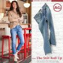【送料無料】 AG Jeans エージー ジーンズ THE STILT ROLL UP デニム ロールアップ ストレッチデニム 雰囲気あるウォッシュド加工がお洒...