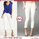 【jg】【 AG Jeans 】 エージー ジーンズ The Stilt Roll Up ホワイトデニム 足元が涼しい ロールアップ デニム セレブ愛用 ブランド 新作 雑誌掲載多数
