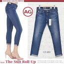 【jg】AG Jeans エージージーンズ デニム スキニー ロールアップ 《 The Stilt Roll Up 》 すっきりとした印象の ロールアップ デザイン ストレッチ が効いており 履き心地抜群