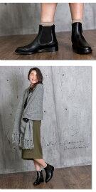 【jg】サイドゴアブーツ本革【FabioRusconi/ファビオルスコーニ】2015秋冬レザーブラック《CACHEMIRE》上質なレザーで上品な大人カジュアルを演出革靴サイズ35/36/37/38/39【即日発送】