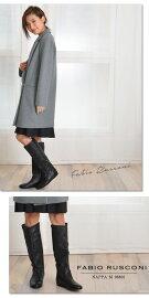 【送料無料】ファビオルスコーニブーツFabioRusconi内張りレザーロングブーツnappaで話題の上品レディースブーツイタリアブランドFabioRusconi革靴あす楽