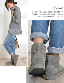 【jg】【UGGアグ】上質シープスキンショートムートンブーツClassicmini厚みのあるボアが暖かい♪ムートンブーツセレブ愛用ブランドUGG定番クラシックミニ革靴
