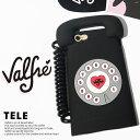 スマホケース Valfre case ヴァルフェー iphone6 ケース 3D 電話iPhone6/6s iPhone6+ TELE 3D IPHONE 7 6 CASEシリコン テル アイフォン ケース モバイル カバー
