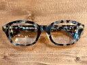 "【GLAD HAND 】グラッドハンド丹羽雅彦×GLADHAND J-IMMY GLASSES ""ORNAMENT"" [GOLD - BLACK AMBER ]眼鏡"