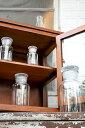【ガラスボトル ガラス瓶 インテリア 雑貨 容器 小物入れギフト キッチン 調味料入れ アンティーク調 アンティーク風】メディシンボトル クリアー M