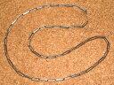 ショッピングホイール WHEEL WORKS/ホイールワークス スターリングシルバー製 ネックレス チェーン ホピチェーン 「フリーサイズ:全長約55cm」 (Lサイズ巾) Silver950 銀製 ウェスタンジュエリー アクセサリー チョーカー インディアンジュエリー ペンダント FUNNY ファニー HOPI族