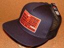 ショッピングベース 【CHIPPS COMPANY チップスカンパニー】 PEACE CAP ピースキャップ アメカジ フラットバイザー ニューエラ キャップ スタイル 刺繍 ワッペン付き メッシュキャップ (NAVY×BLACK) ベースボールキャップ 帽子 NEWERA CAP ヒップホップ バイカー ホットロッド 黒 紺