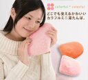 A colorful hot-water bottle [sound sleep goods] [warm goods]