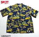 "No.SS37771 SUN SURF サンサーフS/S RAYON HAWAIIAN SHIRT""HAWAIIAN HULA"""