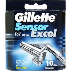 ジレット センサーエクセル 替刃10個入