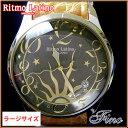 【Ritmo Latino腕時計フィーノ(ブラック/バンド:...