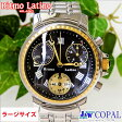 【100本限定腕時計・Ritmo Latino(リトモラティーノ)CLASSICO(クラシコ)・ブラック・ラージサイズ・メタルバンド(メンズ)】クラシカルモダンな正統派クロノグラフ!大人紳士の限定腕時計!