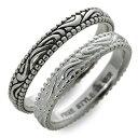珠寶, 手錶 - FREE STYLE フリースタイル シルバー ペアリング ブラック 20代 30代 人気 ブランド