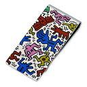 Keith Haring マネークリップ ギフト ラッピング 20代 30代 彼氏 メンズ 誕生日 記念日 妻 プレゼント キースヘリング キースヘリング