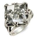 UZUOU ウズオウ シルバー リング 指輪 ダイヤモンド ホワイト 彼女 レディースクリスマス 12月