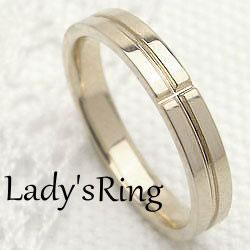クロスリング レディースリング イエローゴールドK18 十字架 18金 指輪 ジュエリーアイ ギフト