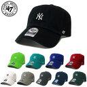 【正規取扱店】47brand フォーティーセブンブランド NY チビロゴ キャップ Yankees BaseRunner'47 CLEAN UP [Lot/B-BSRNR17GWS] FORTY ..