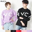 ルーカ RVCA プリント ロンT ロングスリーブ Tシャツ FAKE RVCA L/S 2018 HOLIDAY 長