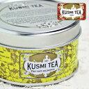 クスミティー ジャスミン 25g缶 【正規輸入品】 KUSMI TEA JASMINE GREEN TEA フランス 紅茶 茶葉 お歳暮 お中元 【RCP】