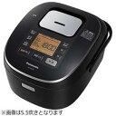 送料無料!パナソニック 1升 炊飯器 IH式 ブラック SR-HB187-K