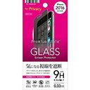 送料無料iPhone7Plusガラス 5.5インチ対応 Premium Style 液晶保護ガラス 覗き見防止 光沢 PG-16LGL14