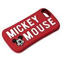 送料無料PGA iPhone 8/7/6s/6用 シリコンケース(ミッキーマウス/レッド) PG-DCS387MKY