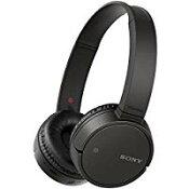 送料無料!ソニー SONY ワイヤレスヘッドホン WH-CH500 : Bluetooth対応 最大20時間連続再生 マイク付き 2018年モデル ブラック WH-CH500 BC