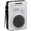送料無料!OHM AudioComm ラジオカセット AM/FM ラジオ番組録画可能 CAS-710Z
