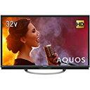 送料無料!シャープ AQUOS 32V型 ハイビジョン液晶テレビ 直下型LEDバックライト アナログRGB端子付 裏番組録画対応 LC-32W5
