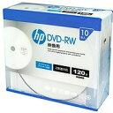送料無料!hp(ヒューレット・パッカード) 録画用DVD-RW(スリムケース) 10枚