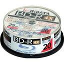 送料無料!ライテック製 / RiDATA / BD-R / 録画用 / 20枚パック / BD-R130PW 4X.20SP C