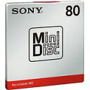 送料無料!ソニー ミニディスク 80分 1枚パック MDW80T(4548736017160)