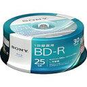 送料無料!ソニー 4倍速対応BD-R 30枚パック 25GB...